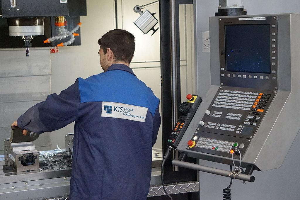 Stellenanzeige CNC-Fräser 5-Achs